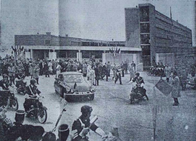 Inauguration du lycée st exupéry à marseille